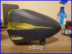 Empire Axe Pro Dust Silver-Black /DYE R2- Navy-Lime /Empire Carbon Fiber Tank