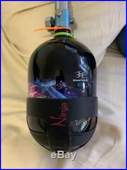 Empire Paintball 56ci 4500psi Carbon Fiber Compressed Air Tank with rubber pad
