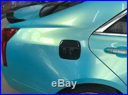 FOR Cadillac ATS 2013-2019 real carbon fiber Fuel tank cap oil gas cover trim