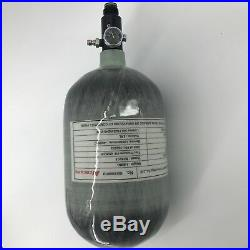 Firefighter 2L CE 30Mpa Scuba Air Tank Carbon Fiber Cylinder Paintball Regulator