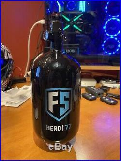 First Strike Hero 2 Carbon Fiber Air Tank 77/4500 Black Ninja Reg