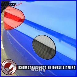 Fits 15-18 Subaru WRX STI Sedan Fuel Tank Cap Cover Trim Carbon Fiber CF