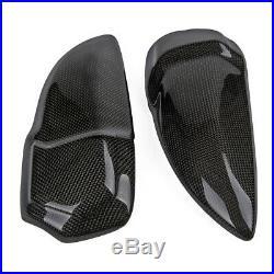 For BMW S 1000RR 2015-2018 Carbon Fiber Tank Sliders Protectors