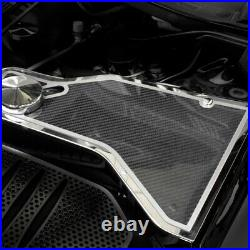 For Dodge Challenger 11-19 ACC 153069 Carbon Fiber Water Tank Cover Top Plate