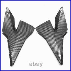 For Kawasaki 2004 2005 Ninja ZX-10R Gas Tank Side Knee Fairing Cowl Carbon Fiber