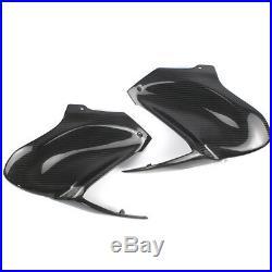 For Kawasaki Z900 207-2018 Gas Tank Side Cover Panel Fairing Real Carbon Fiber
