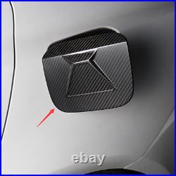 For LEXUS IS250/300/200T 2015-2018 Carbon Fiber Fuel-tank cap decoration Trim