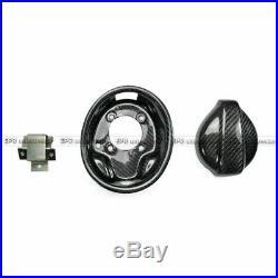 For Mazda MX5 NA 89-97 Carbon Fiber Fuel Cap Lid Oil Tank Cover