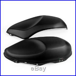 For YAMAHA XSR900 100% Carbon Side Tank Covers Motorcycle protector Covers Matt
