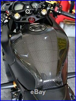 Guard Cover Tank Oil Front Carbon Gas Accessories Honda CB650F CBR650F 2014-2019