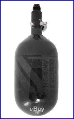 HK ARMY AeroLite Carbon Fiber HPA Paintball Tank 68ci / 4500psi Smoke