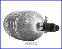 HK Army Aerolite 68/4500 Carbon Fiber Paintball HPA Air Tank Clear