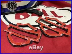 Harley CVO custom carbon fiber tank emblems