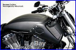 Harley Davidson VRSCF V-Rod Muscle 100% Carbon Fiber Tank Cover, Matte finish