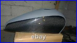 Harley Davidson XR1200 Paintable REAL CARBON FIBRE Tank Cover