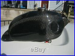 Hodaka Carbon Fiber Gas Fuel Tank Ahrma Super Combat