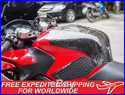 Honda CB650F CBR650F 2014-2018 Guard Tank Front Cover Carbon Kevlar Gas Fairing