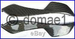 Honda CBR1000RR carbon fiber tank covers SC57 2004-2007 lower pair infill panels