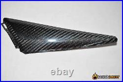 Honda Cbr1000rr Carbon Fibre Tank Side Infill Covers 2008-2011 Cbr 100% Fiber Rr