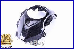 Honda Grom Carbon Fiber Fuel Tank Cover 100%