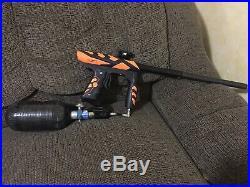 Ion paintball gun + Carbon Fiber Air Tank
