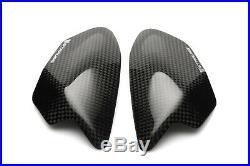 KAWASAKI ZX-10R 2011-2019 Carbon Tank Sliders Protectors 100% Carbon