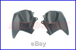 Kawasaki Ninja H2 SX/SE PLUS Carbon Fiber Front Tank Covers/Shround TWILL MATT