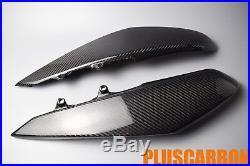 Kawasaki Z1000 2010 2011 2012 2013 Carbon Fiber Under Tank Covers Glossy Finish