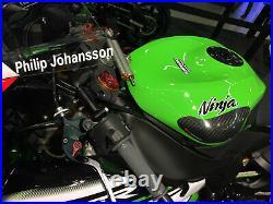 Kawasaki ZX-6R ZX6R 2009-2019 R&G Racing Carbon Fibre Tank Sliders TS0016C
