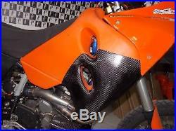 Ktm 640 Adventure 1997 2007 Carbon Fiber Fuel Tank Protections