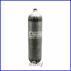 M18x1.5 Thread 3L Air Tank CE High Pressure Carbon Fiber Cylinder PCP Scuba
