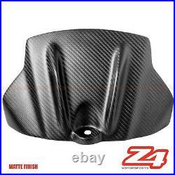 MATTE 2009-2012 RSV4 Carbon Fiber Gas Tank Front Cover Panel Guard Cowl Fairing