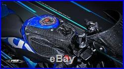 MOS Carbon Fiber Fuel Tank Covers for Suzuki GSX-R125 GSX-R150 2017-2019