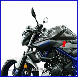 MOS Carbon Fiber Fuel Tank Panel Side Rear Covers of Yamaha MT-03 2015-2019