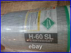 MSA H-60 SL 4500 PSI Carbon fiber SCBA air tank paintball! NEW