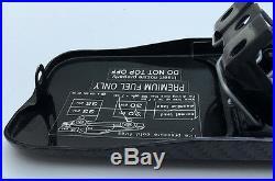 Mercedes R129 Sl320 Sl500 Sl600 Fuel Door Cover Gas Tank LID Real Carbon Fiber