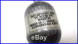 NEW Open Box Empire 48/4500 Carbon Fiber Paintball Tank with Regulator (69)