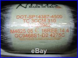 NIB Ninja 68/4500 PRO V2 REG. Carbon Fiber Air Tank HPA PAINTBALL / AIRSOFT