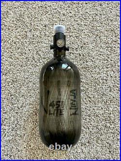 NINJA PAINTBALL CARBON FIBER AIR TANK 45/4500 Translucent Black STD