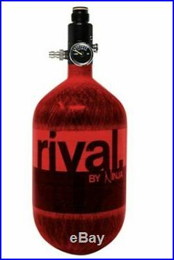 NINJA Rival Paintball Carbon Fiber 68ci / 4500psi Compressed HPA Air Tank Red
