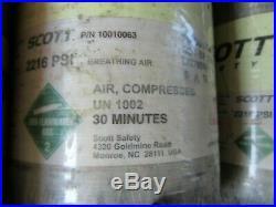 NXG2 Mfr Date 2015 Scott 2216 psi 30min SCBA Carbon Fiber Bottle CYLINDER TANK