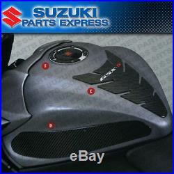 New Suzuki Gsx-s Gsxs 1000 Complete Carbon Fiber Fuel Tank Knee Cap Pad Trim Kit