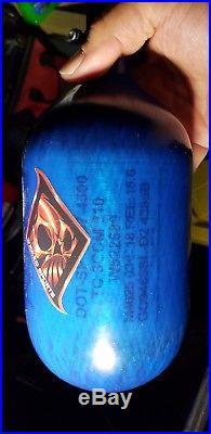 Ninga Carbon Fiber HPA tank Blue 68/4500 03/18 hydro date