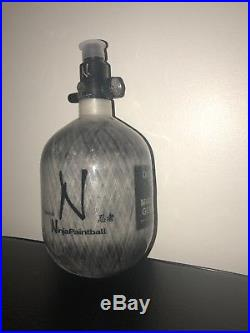 Ninja 50/4500 HPA Grey Carbon Fiber Paintball Nitro/Air tank Brand New