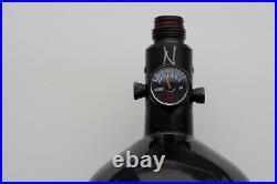 Ninja 50ci 4500psi 50/4500 Stubby Paintball Carbon Fiber Compressed Air Tank HPA