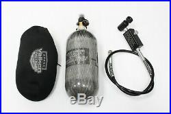 Ninja 90ci 4500psi Carbon Fiber Air Tank & Fill Station for PCP Air Guns