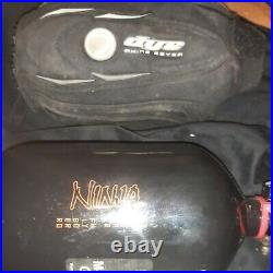 Ninja Carbon Fiber 68/4500 psi paintball tank NO RESERVE