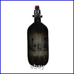 Ninja Carbon Fiber HPA Tank 45/4500 LITE Adjustable Reg Translucent Black