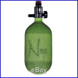 Ninja Carbon Fiber HPA Tank 68/4500 Translucent Lime