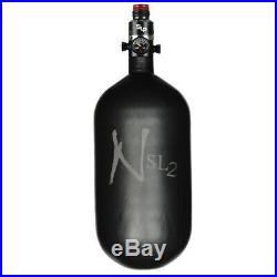 Ninja Carbon Fiber HPA Tank 77/4500 SL2 PRO V2 SLP REG Cerakote Black